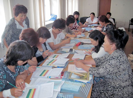 Education of the teachers of NFP in Kyrgyzstan